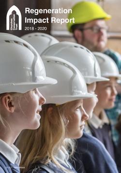 Regeneration Impact Report 2018-2020